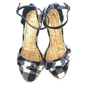 "Charlotte Russe 4.25"" Heel Sandal"